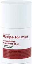 Parfumuri și produse cosmetice Deodorant - Recipe For Men Alcohol Free Deodorant Stick