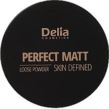Parfumuri și produse cosmetice Pudră de față - Delia Perfect Matt Loose Powder Skin Defined