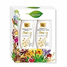 Parfumuri și produse cosmetice Set - Bione Cosmetics Avena Sativa (shm/260ml+cond/260ml)