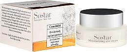 Parfumuri și produse cosmetice Cremă hidratantă cu extract de cânepă pentru pleoape - Sostar Cannabisoil Moisturizing Eye Cream of Cannabis Extract