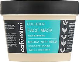 """Parfumuri și produse cosmetice Mască de față """"Colagen"""" - Cafe Mimi Face Mask"""