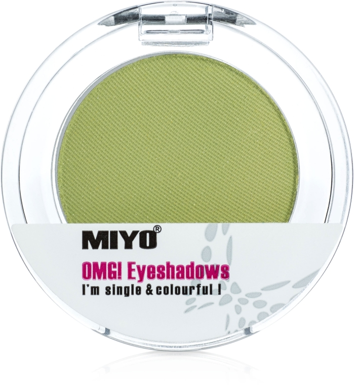 Fard monocrome pentru pleoape - Miyo Omg Eyeshadows