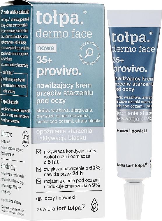 Cremă anti-îmbătrânire pentru zona ochilor - Tolpa Provivo 35+ Anti-Age Eye Cream — Imagine N1