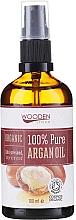 Parfumuri și produse cosmetice Ulei de argan - Wooden Spoon 100% Pure Argan Oil
