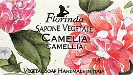 """Parfumuri și produse cosmetice Săpun natural """"Camelia"""" - Florinda Sapone Vegetale Camellia"""