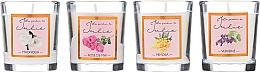 Parfumuri și produse cosmetice Set de lumânări parfumate - Ambientair Le Jardin de Julie
