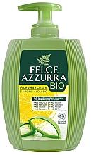 """Parfumuri și produse cosmetice Săpun lichid """"Aloe și Lămâie"""" - Felce Azzurra BIO Aloe Vera & Lemon Liquid Soap"""