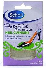 Parfumuri și produse cosmetice Pernuță din gel pentru pantofi - Scholl Party Feet Heel Cushions