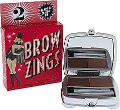 Духи, Парфюмерия, косметика Set pentru sprâncene - Benefit Brow Zings (2 -Warm Golden Blonde)