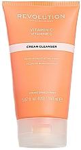 Parfumuri și produse cosmetice Cremă de curățare cu vitamina C pentru față - Revolution Skincare Brightening Cleansing Cream With Vitamin C