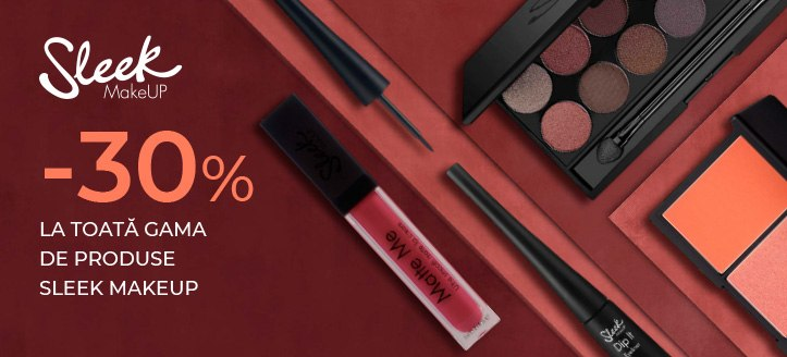 Promoție de la Sleek MakeUP