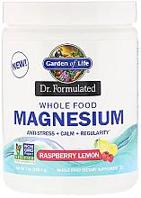 Parfumuri și produse cosmetice Supliment alimentar- Magneziu cu aromă de zmeură și lămâie, praf - Garden of Life Dr. Formulated