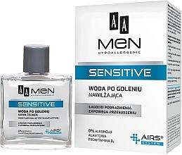 Parfumuri și produse cosmetice Loțiune după ras - AA Men Sensitive After Shave Moisturising Lotion