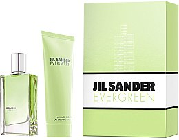 Parfumuri și produse cosmetice Jil Sander Evergreen - Set (edt/30ml + body/lot/75ml)