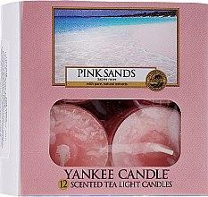 Parfumuri și produse cosmetice Lumânări pastile - Yankee Candle Scented Tea Light Candles Pink Sands