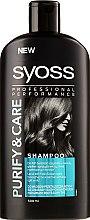 Parfumuri și produse cosmetice Șampon pentru păr gras la rădăcini și uscat la vârfuri - Syoss Pure&Care Balancing Spray