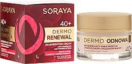 Parfumuri și produse cosmetice Cremă de noapte pentru față - Soraya Dermo Odnowa 40+ Cream
