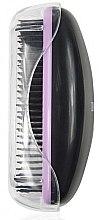 Parfumuri și produse cosmetice Perie de păr 1245, negru + mov - Donegal Hair Brush