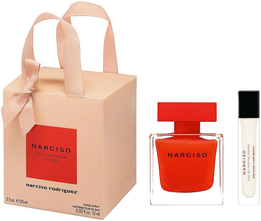 Narciso Rodriguez Narciso Rouge - Set (edp/90ml + edp/mini/10ml)