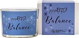 Parfumuri și produse cosmetice Lumânare organică - PuroBio Home Organic Balance