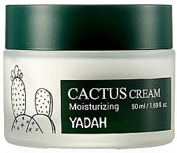 Parfumuri și produse cosmetice Cremă hidratantă cu cactus pentru față - Yadah Moisturizing Cactus Cream