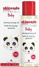 Parfumuri și produse cosmetice Ulei calmant pentru masaj - Skincode Baby Calming Massage Oil