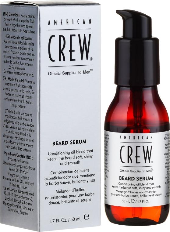 Ser pentru barbă - American Crew Official Supplier to Men Beard Serum