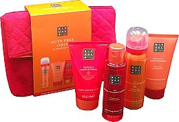 Parfumuri și produse cosmetice Set - Rituals The Ritual of Happy Buddha (sh/gel/50ml + b/cr/70ml + sh/scr/70ml + sh/oil/75ml)