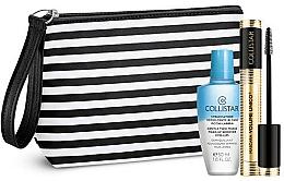 Parfumuri și produse cosmetice Set de machiaj pentru ochi - Collistar Mascara Volume Unico Kit (mascara/13ml + demaq/50ml + bag)