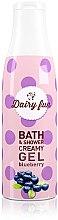 """Parfumuri și produse cosmetice Gel de duș """"Afine"""" - Delia Dairy Fun Bath Shower Creamy Gel"""