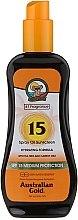 Parfumuri și produse cosmetice Spray cu protecție solară pentru față - Australian Gold Tea Tree&Carrot Oils Spray SPF15