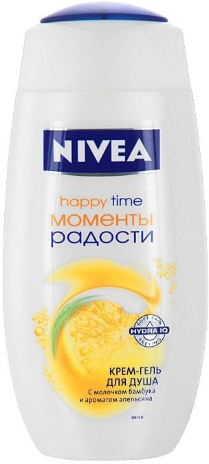 "Cremă-Gel de duș ""Fericire"" - Nivea Bath Care Happy Time Shower Gel — Imagine N1"