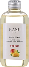Parfumuri și produse cosmetice Olejek do masażu Mango - Kanu Nature Mango Massage Oil