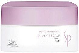 Parfumuri și produse cosmetice Mască de păr pentru scalp sensibil - Wella SP Balance Scalp Mask