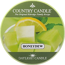 Parfumuri și produse cosmetice Lumânare de ceai - Country Candle Honeydew Daylight