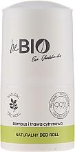 "Parfumuri și produse cosmetice Deodorant roll-on ""Lemongrass și Bambuc"" - BeBio Natural Lemon Grass & Bamboo Deodorant Roll-On"