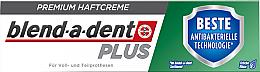 Parfumuri și produse cosmetice Cremă adezivă pentru fixarea protezelor dentare - Blend-A-Dent Premium Adhesive Cream Plus Dual Protection Fresh