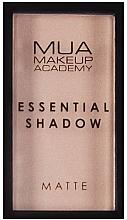 Parfumuri și produse cosmetice Fard de ohi - MUA Essential Shadow Matte