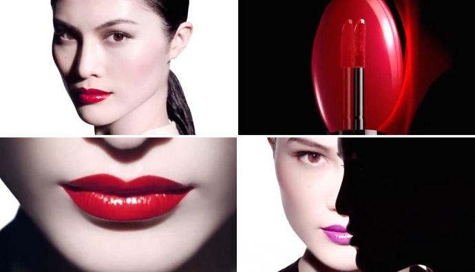 Ruj de buze - Shiseido Lacquer Rouge — Imagine N2