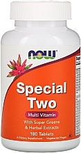 Parfumuri și produse cosmetice Multivitamine, 180 comprimate - Now Foods Special Two Multi Vitamin