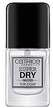 Parfumuri și produse cosmetice Fixator lac de unghii - Catrice Super Dry Gloss Top Coat