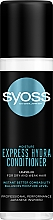 Духи, Парфюмерия, косметика Экспресс-кондиционер с водой клена каиде для сухих и ослабленных волос - Syoss Moisture Express Hydra Conditioner