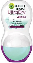 Parfumuri și produse cosmetice Deodorant roll-on - Garnier Mineral UltraDry Antiperspirant 48h Roll On