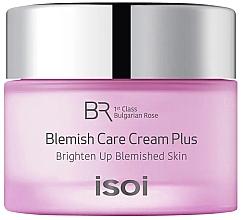 Parfumuri și produse cosmetice Cremă-tratament împotriva acneei și petelor pigmentare - Isoi Bulgarian Rose Blemish Care Cream Plus