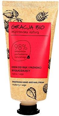 Cremă de mâini - Gracja Bio Raspberry Hand And Nail Cream