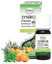"Parfumuri și produse cosmetice Amestec de uleiuri esențiale organice ""Energie"" - Galeo Organic Essential Oil Synergy Vitality"