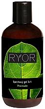 Parfumuri și produse cosmetice Gel de duș - Ryor Men Shower Gel 3 In 1