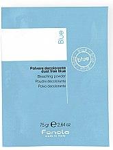 Parfumuri și produse cosmetice Pudră decolorantă pentru păr, albastră - Fanola De-Color Compact Blue (mostră)