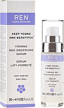 Parfumuri și produse cosmetice Ser facial cu efect de întărire și netezire - Ren Keep Young and Beautiful Smoothing Serum