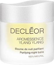 """Parfumuri și produse cosmetice Balsam de noapte """"Ylang-ylang"""" pentru tenul mixt și gras - Decleor Ylang-Ylang Puriyfing Night Balm"""